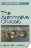 The Automotive Chassis  Engineering Principles