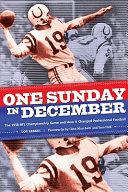 One Sunday in December