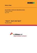 eSport   Sport oder Spiel
