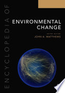Encyclopedia of Environmental Change