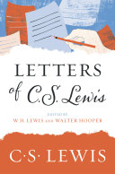 Letters of C  S  Lewis