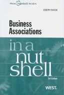 Business Associations in a Nutshell