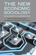 The New Economic Sociology