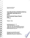 San Francisco International Airport Master Plan, Final Environmental Impact Report