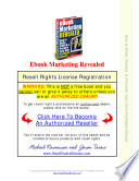 eBook Marketing Revealed