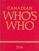 The Canadian Who s who