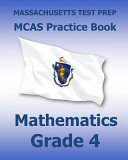 Massachusetts Test Prep Prep Mcas Practice Book Mathematics  Grade 4