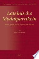 Lateinische Modalpartikeln