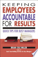 Keeping Employees Accountable for Results