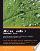 JBoss Tools 3 Developers Guide Cover Image