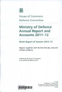 Ministry of Defence Annual Report and Accounts 2012-13