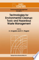 Technologies for Environmental Cleanup  Toxic and Hazardous Waste Management
