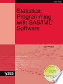 Ebook Statistical Programming with SAS/IML Software Epub Rick Wicklin Apps Read Mobile