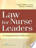 Law For Nurse Leaders