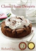 Classic Home Desserts Book