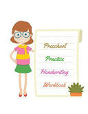 Preschool Practice Handwriting Book