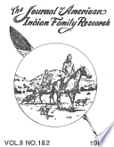 The Journal of American Indian Family Research   Vol  II  No  1   2     1981