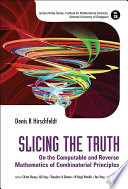 Slicing the Truth