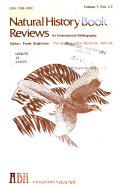 Natural History Book Reviews