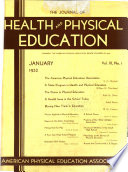 The Journal of Health and Physical Education