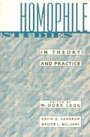 Homophile studies in theory and practice