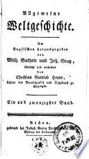 Allgemeine Weltgeschichte