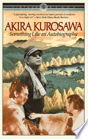 Ebook Something Like An Autobiography Epub Akira Kurosawa Apps Read Mobile