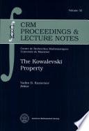 The Kowalevski Property