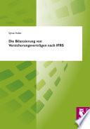 Die Bilanzierung von Versicherungsverträgen nach IFRS