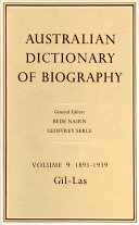 Australian Dictionary of Biography  1891 1939  Gil Las