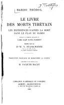 Livre des morts tibétain, le bardo thödol