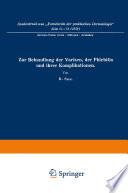 Zur Behandlung der Varizen, der Phlebitis und ihrer Komplikationen