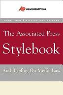 Book The Associated Press Stylebook