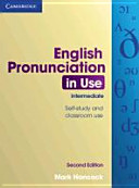 English Pronunciation in Use  Intermediate   Second Edition  Book with Answers  4 Audio CDs and CD ROM