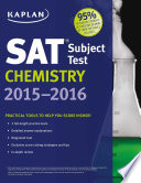 Kaplan SAT Subject Test Chemistry 2015 2016