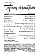 The Magazine of Fantasy   Science Fiction