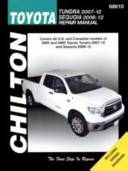 Toyota Tundra and Sequoia Automotive Repair Manual