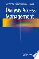 Dialysis Access Management book