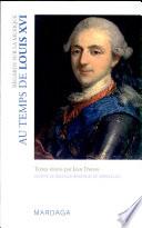 Regards sur la musique au temps de Louis XVI