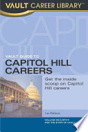 Vault Guide to Capitol Hill Careers