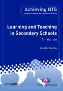 Learning and Teaching in Secondary Schools