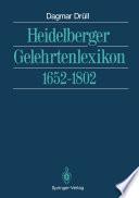 Heidelberger Gelehrtenlexikon