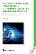 Handbook Of Financial Econometrics Mathematics Statistics And Machine Learning In 4 Volumes