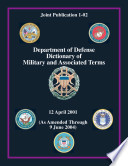 Department Of Defense Dictionary Of Military And Associated Terms Online