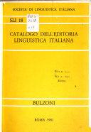 Catalogo dell editoria linguistica italiana