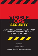 Visible Ops Security