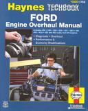 Ford Engine Overhaul Manual