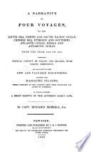 illustration du livre A Narrative of Four Voyages