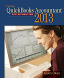 Using Quickbooks Accountant 2013  with CD ROM and Data File CD ROM