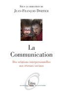 La Communication  Des relations interpersonnelles aux r  seaux sociaux